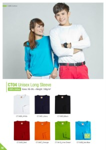 long sleeve roundneck